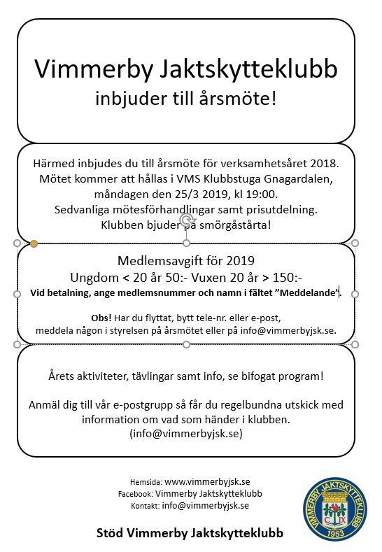 Årsmöte 2019